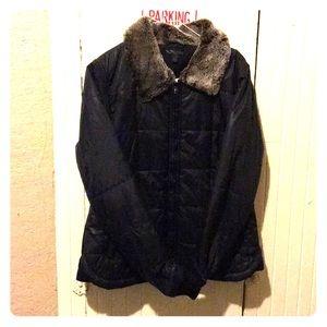 2723b67a9e6 Women Vans Fur Jacket on Poshmark